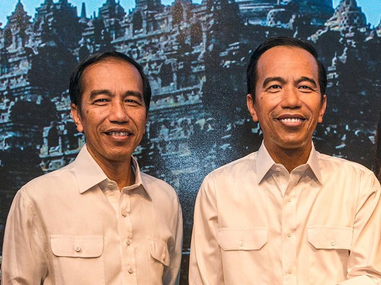 Patung Lilin Jokowi di Madame Tussauds Hong Kong Akan Pakai Batik