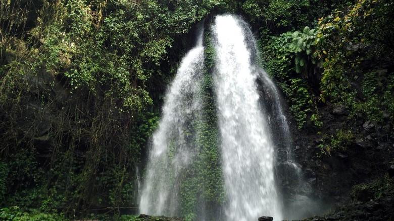 Air Terjun Jumog yang cantik di Karanganyar (Wahyu/detikTravel)