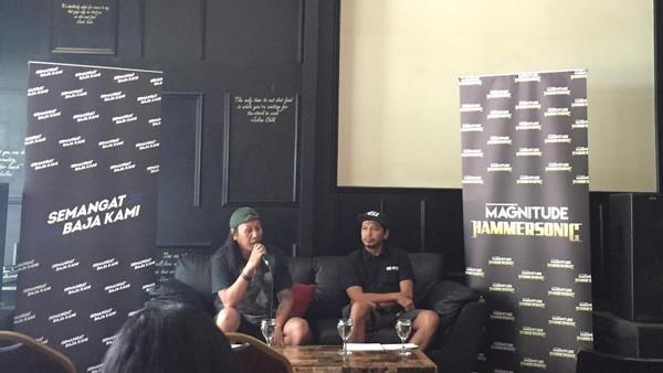 Roy Jecconiah Tampil Bersama Suckerhead di Hammersonic 2017