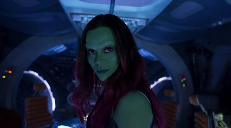 Foto: Zoe Saldana dalam Guardians of the Galaxy 2 (imdb)
