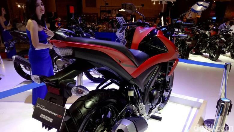 Yamaha V-Ixion R (Foto: Rangga Rahadiansyah)