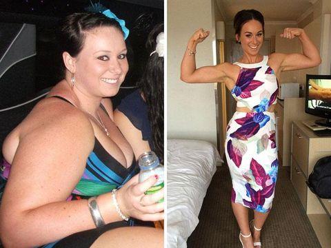 Lihat Perubahan Mengagumkan 10 Orang Gemuk yang Sukses Turunkan Berat
