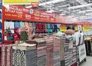 Diskon Hingga 50% Produk Tekstil di Transmart dan Carrefour