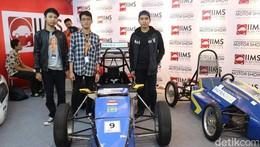 Mobil Listrik Buatan Mahasiswa Indonesia Dikendalikan dengan Android
