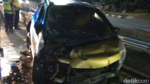 Sheila Marcia Kecelakaan di Semanggi, Mobilnya Rusak Berat