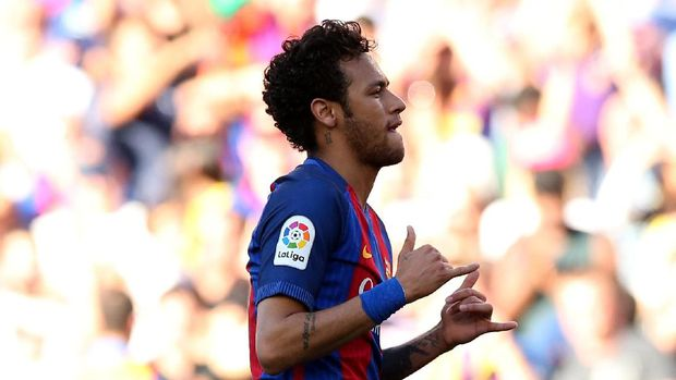Neymar sempat membentuk trio tertajam di kompetisi Eropa bersama Lionel Messi dan Luis Suarez.