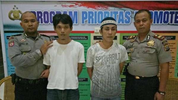 Sewa Taksi, 2 Napi Rutan Pekanbaru Ditangkap di Kab Kampar Riau