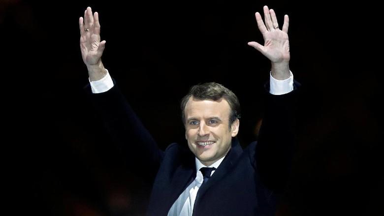 Macron, Politikus Pemula yang Jadi Presiden Termuda Prancis