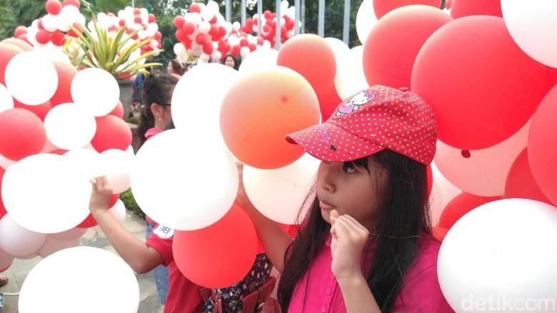 Yuk Lebih Berhati-hati Saat Bermain Balon Gas / Foto: Dewi Irmasari-detikcom