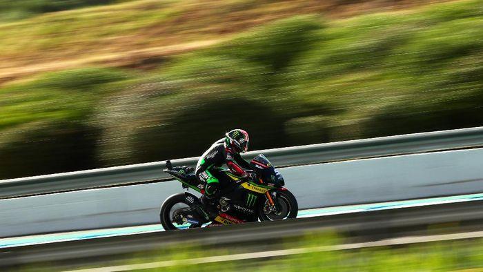 Johann Zarco melesat di Sirkuit Jerez dalam gelaran MotoGP Spanyol (Foto: Mirco Lazzari gp/Getty Images)