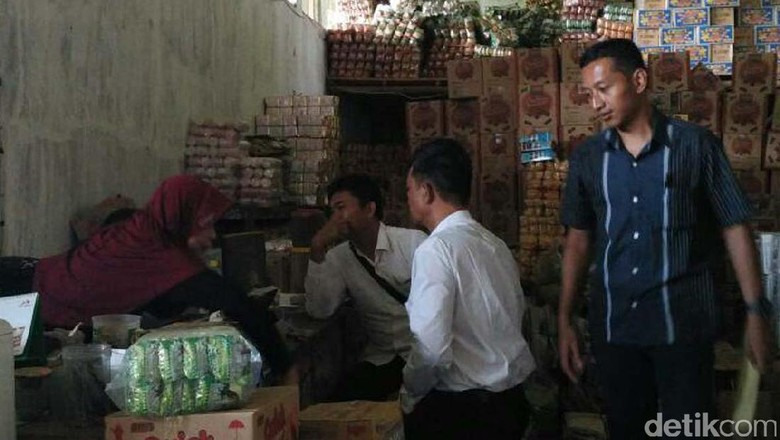 Cegah Penimbunan, Satgas Mafia Pangan Polres Pekalongan Sisir Pasar