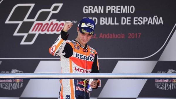 Air Mata Pedrosa dan Kemenangan Bersejarah di Jerez