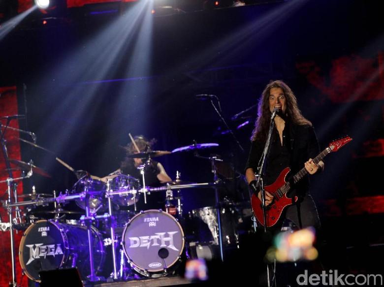Ganjar Jawab Undangan Megadeth: Insha Allah Kulo Nonton