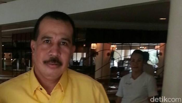 Plt Ketua DPD Golkar Aziz Samual