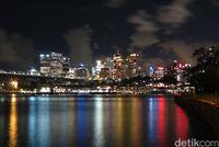 Kota Sydney di malam hari (Fitraya/detikTravel)
