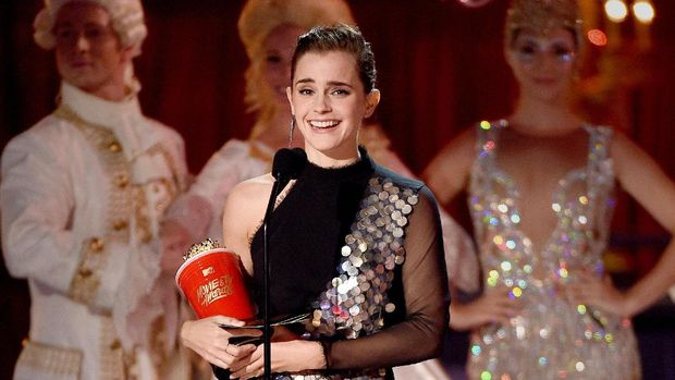 Emma Watson Meraih Piala MTV Movie and TV Awards 2017