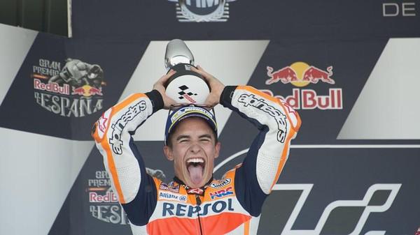 Finis Kedua, Marquez Memang Enggan Ambil Risiko