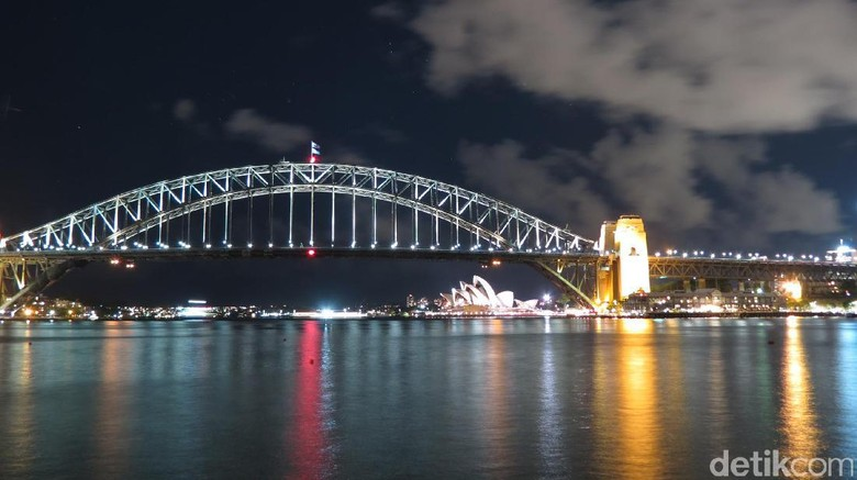 Foto: Sydney Harbour Bridge dan Opera House (Fitraya/detikTravel)