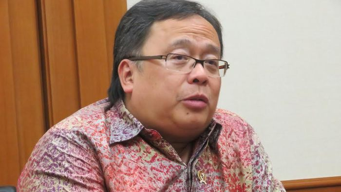 Menteri PPN/Kepala Bappenas Bambang Brodjonegoro (Foto: Maikel Jefriando)