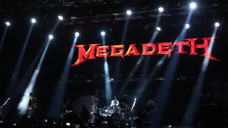 Megadeth Foto: Hanif Hawari/detikHOT