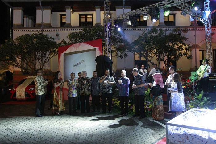 Wali Kota Semarang Hendrar Prihadi di acara Semarang Great Sale 2017 (Foto: Dok. Pemkot Semarang)