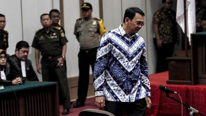 PN Jakut Kirim Berkas PK Ahok ke MA Hari Ini