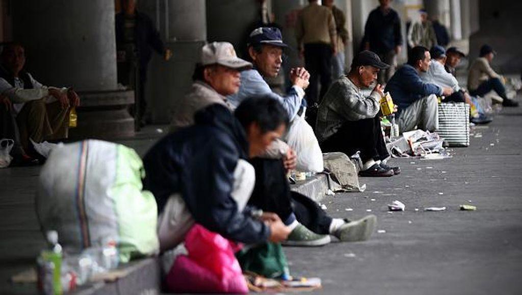 Potret Mengejutkan Gelandangan di Balik Gemerlap Jepang