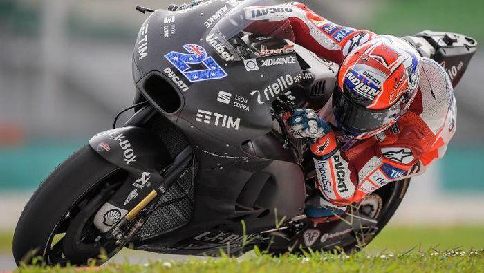 Casey Stoner menikmati perannya sebagai pebalap tes Ducati (AFP/MOHD RASFAN)
