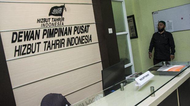 Kantor DPP Hizbut Tahrir Indonesia (HTI), di Menteng Dalam. Ormas ini sudah dicabut izinnya oleh pemerintah karena dianggap bertentangan dengan Pancasila.