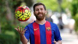 TV Ini Mau Pasang Foto Lionel Messi, yang Tayang Malah Reza Messi