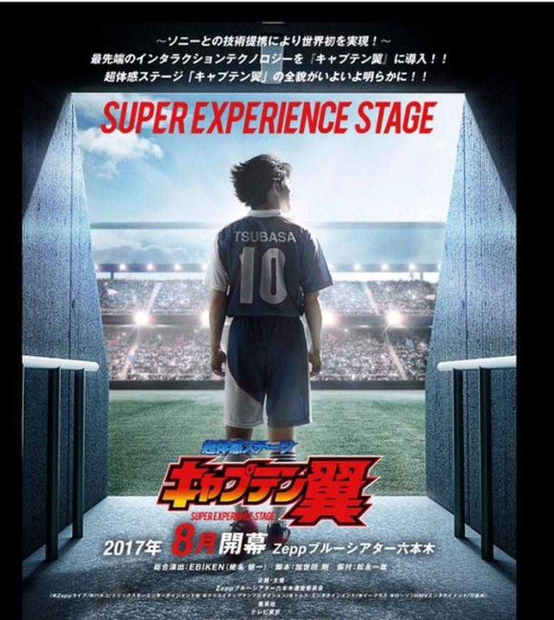 'Captain Tsubasa' Diadaptasi Ke Panggung Teater Di Jepang