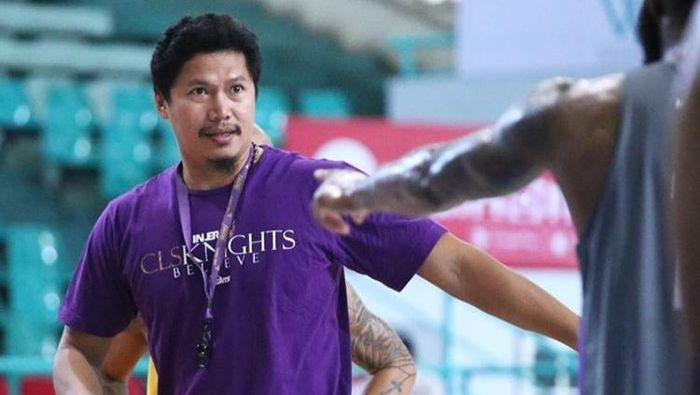 Wahyu Widayat Jati kandidat besar lengan berkuasa instruktur Timnas basket putra ke SEA Games 2019. (Instagram CLS Knihts)