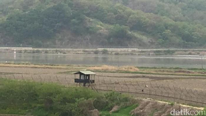 perbatasan Korea Utara dan Korea Selatan (Foto: detikcom/Aji Surya)