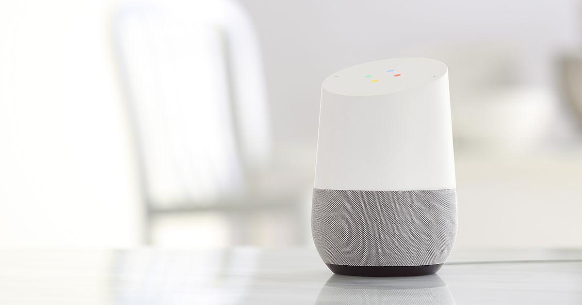 speaker pintar google home
