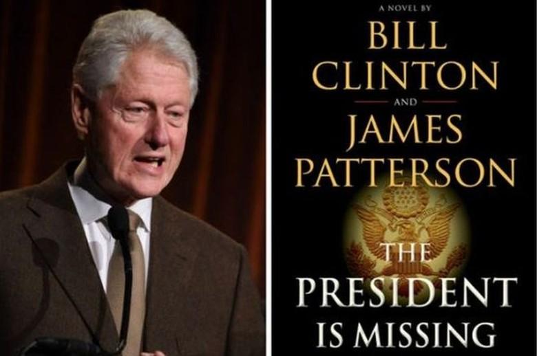 Bill Clinton Tulis Novel Thriller Bareng James Patterson