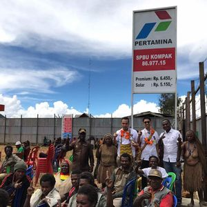 #10yearschallenge, Harga BBM di Papua Dulu Rp 70.000/Liter