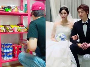 <i>So Sweet</i>, Pria Bangun Mini Market di Rumah untuk Istri yang Sedang Ngidam