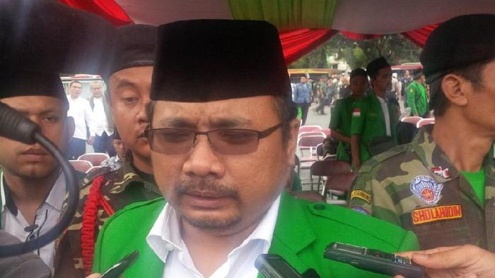 Ketum GP Ansor Yaqut Cholil Qoumas