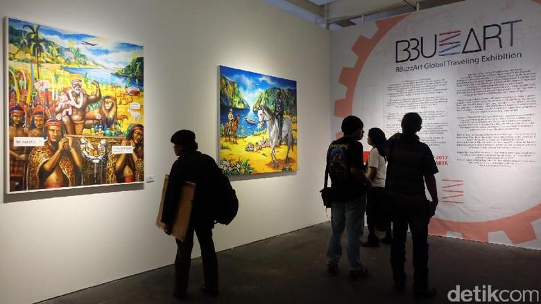 14 Seniman Pendatang Baru Pameran BBuzzShow di Jakarta
