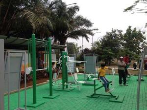 Mengenang Warisan Ahok, Bisa Nge-gym di Taman Waduk Pluit