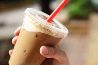 Es kopi susu kekinian di Jakarta.