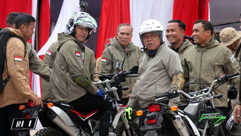 Pejabat Indonesia yang Suka Motoran