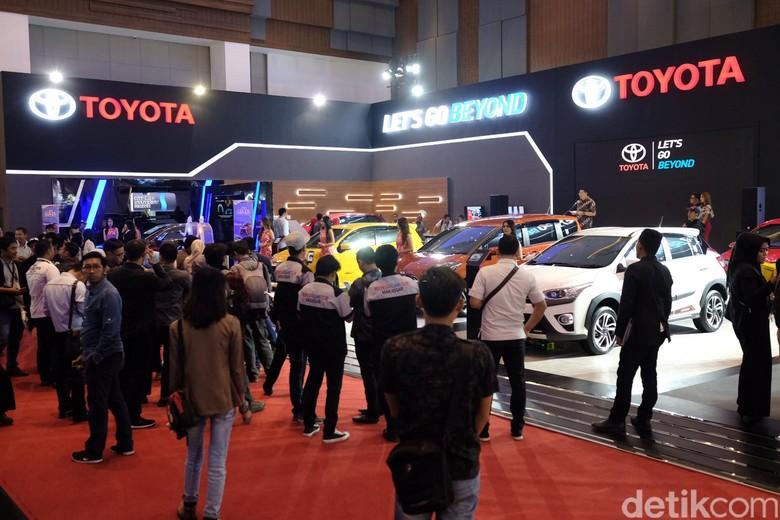 GIIAS Makassar. Foto: Toyota Astra Motor