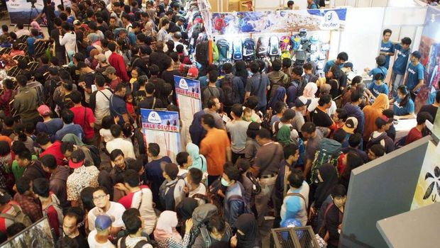 Ramainya Indofest 2017