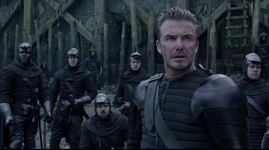 Kisah Klasik dan Aksi David Beckham di King Arthur: Legend of the Sword