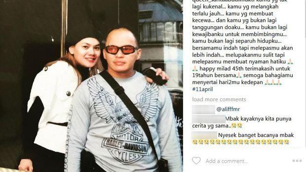 Miyabi Sudah Punya Pacar, Adjie Pangestu Nikah dengan Wanita Muda