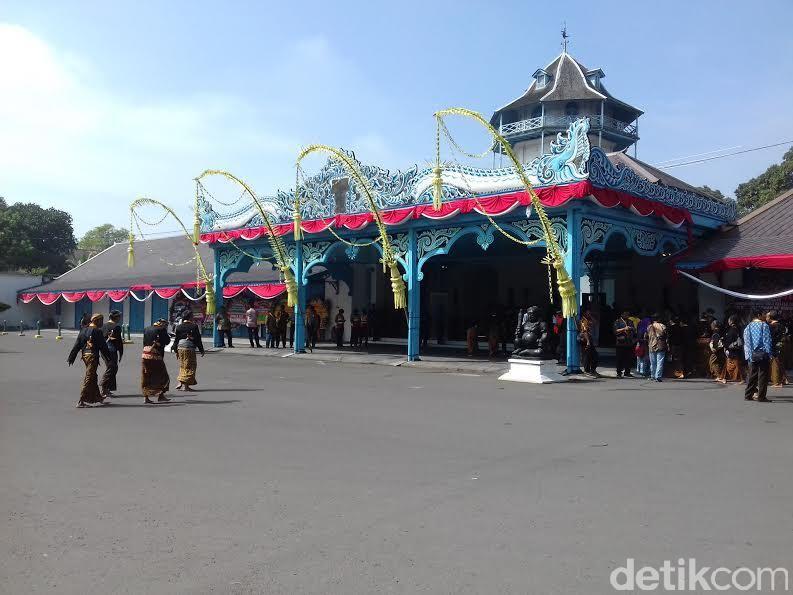 Keraton Kasunanan Surakarta, Jumat (12/5/2017).