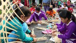 Begini Ramainya Festival Bambu di Banyuwangi