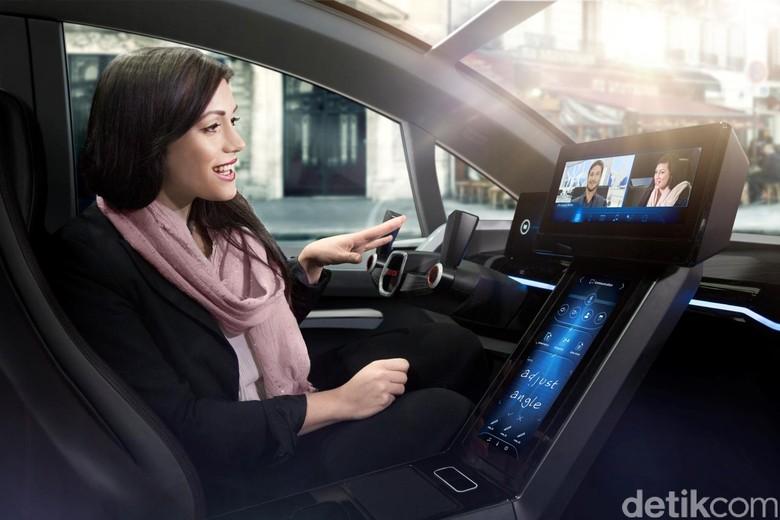 Mobil otonom. Foto: Bosch