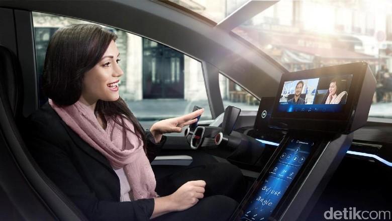 Mobil otonom (Foto: Bosch)